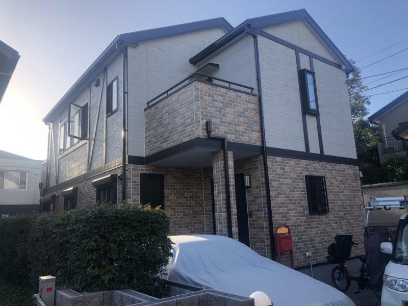 藤沢市 T様邸 外壁・屋根塗装・コーキング・バルコニー防水工事