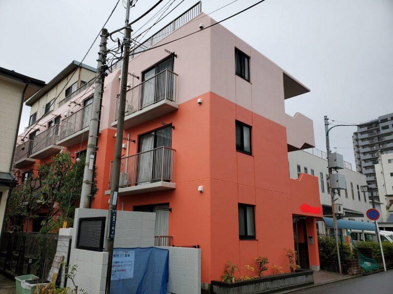 茅ヶ崎市 S様マンション 外壁塗装・コーキング工事
