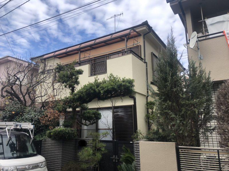 茅ヶ崎市 K様邸 外壁・バルコニー塗装工事