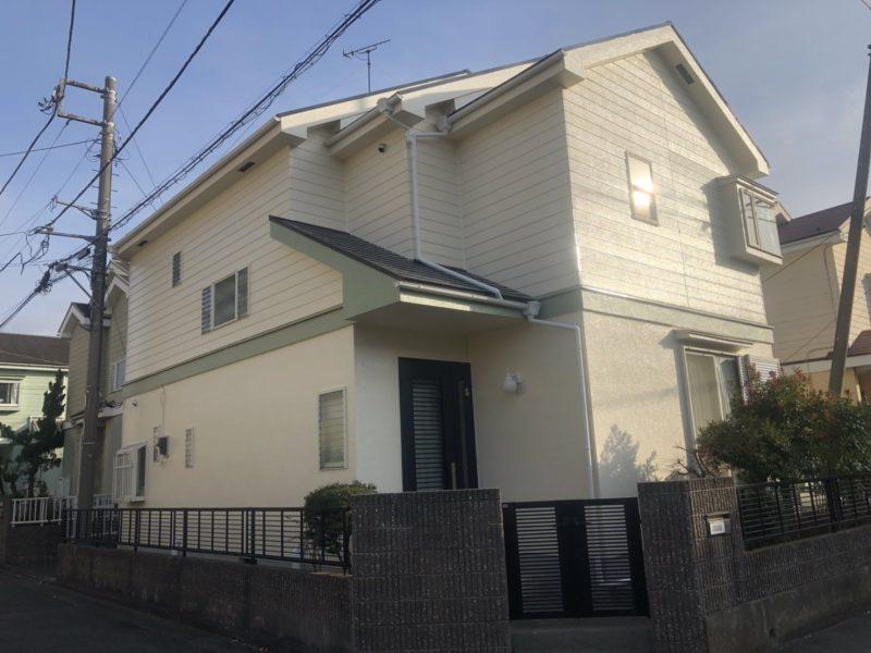 茅ヶ崎市 N様邸 外壁・屋根・付帯部塗装・バルコニー防水工事