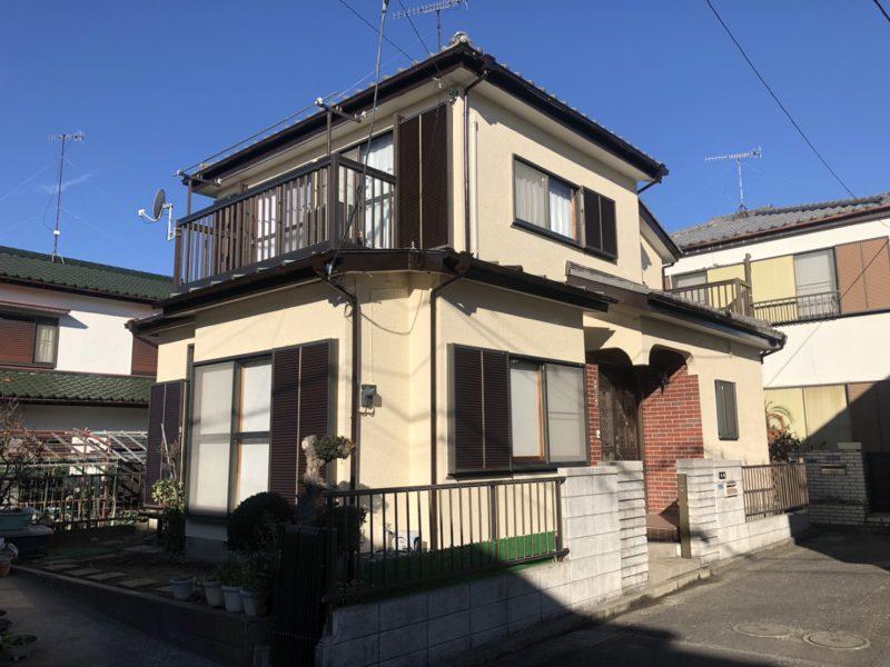 茅ヶ崎市 K様邸 軒天張替え・外壁・付帯部塗装工事