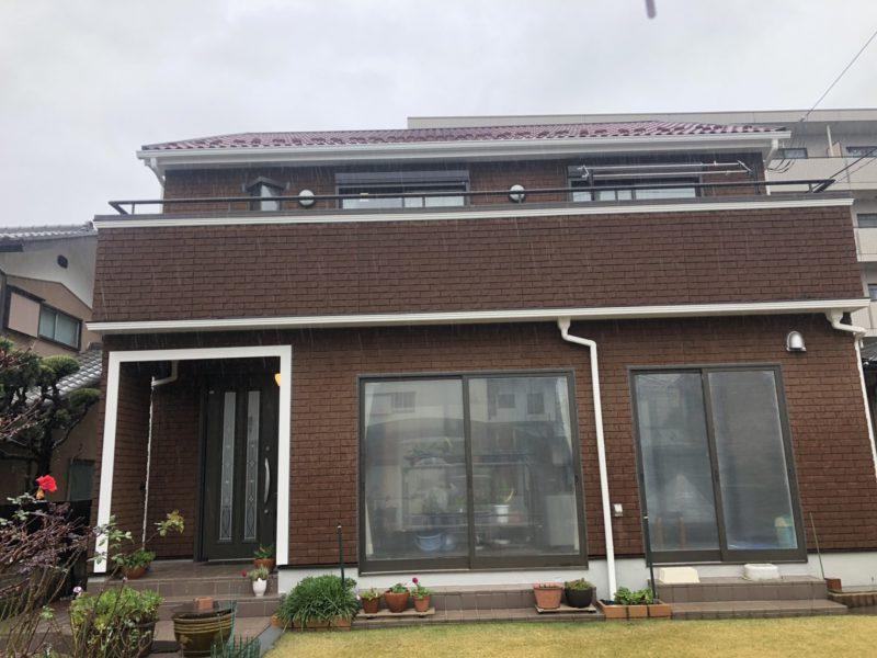 茅ヶ崎市 Y様邸 屋根・付帯部塗装・コーキング・バルコニー防水工事