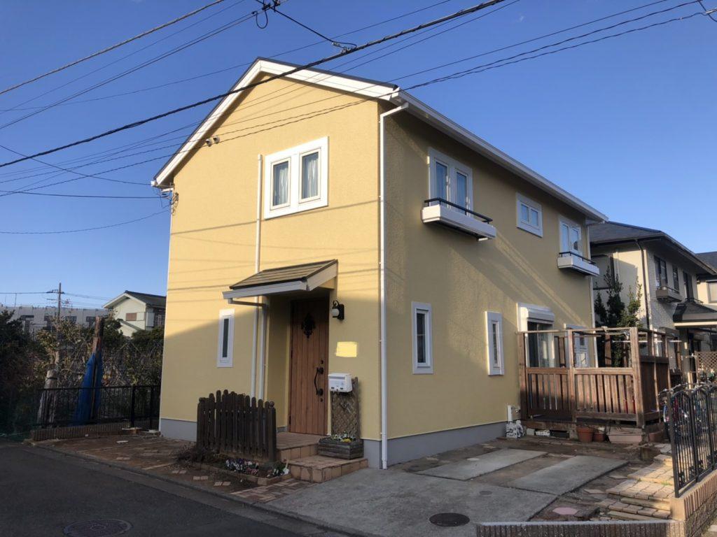 藤沢市 H様邸 外壁・屋根塗装工事