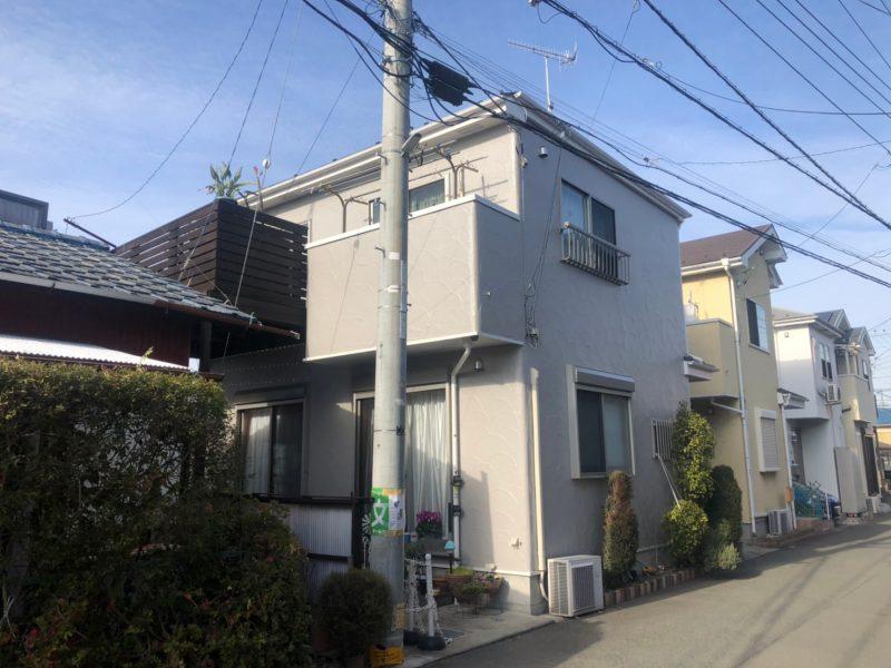 茅ヶ崎市 N様邸 外壁・屋根バルコニー塗装工事