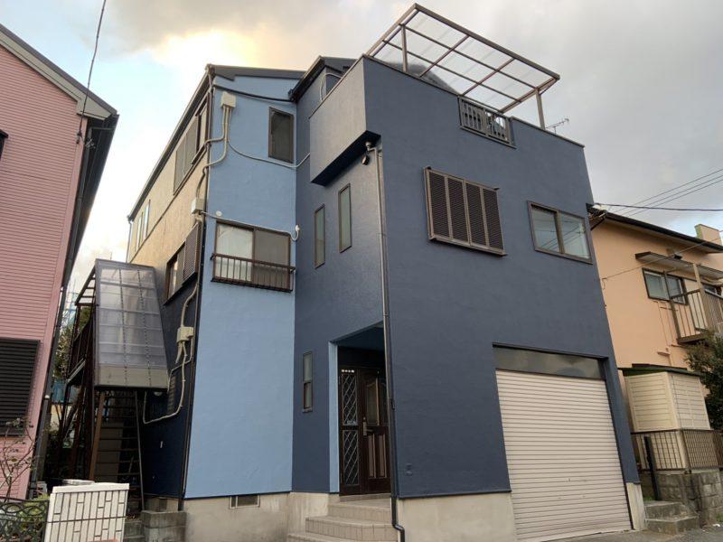 藤沢市 T様邸 外壁屋根塗装工事
