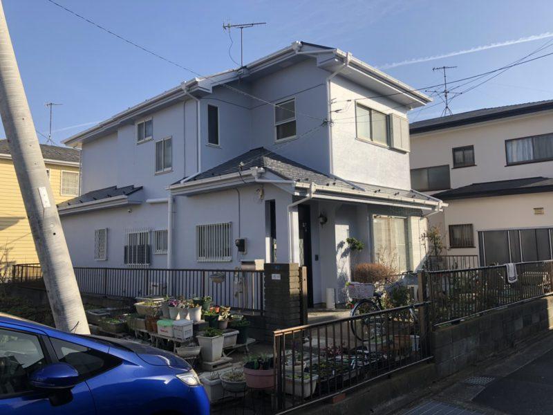 茅ヶ崎市 M様邸 外壁・屋根・付帯部分塗装工事