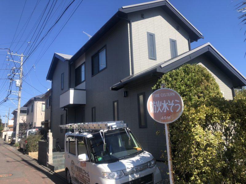 藤沢市 K様邸外壁・屋根・コーキング工事