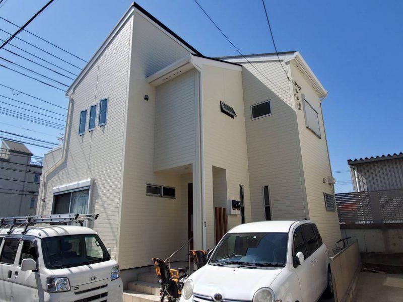 茅ヶ崎市 M様邸 外壁・付帯塗装工事