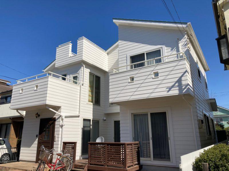 藤沢市 M様邸 外壁・屋根・付帯部塗装・バルコニー防水工事