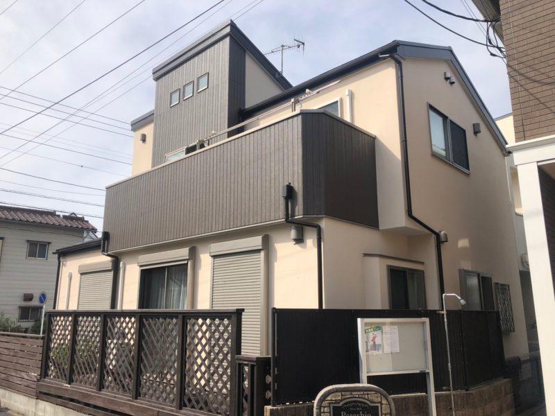 茅ヶ崎市 H様邸 外壁・屋根・付帯部塗装・バルコニー防水工事