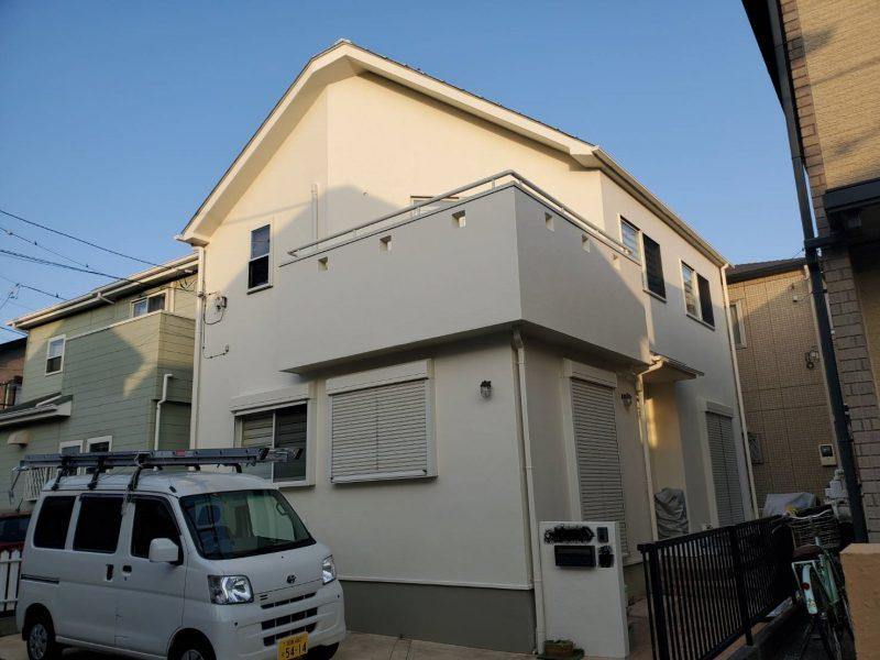 茅ヶ崎市 S様邸 外壁・屋根・付帯部塗装・バルコニー防水工事