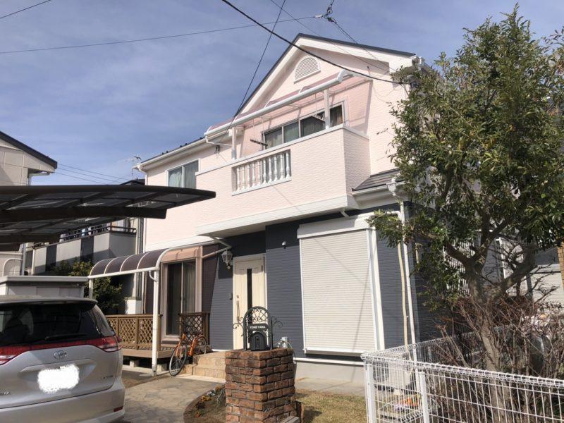茅ヶ崎市 Y様邸 外壁・屋根・付帯部塗装・バルコニー防水工事