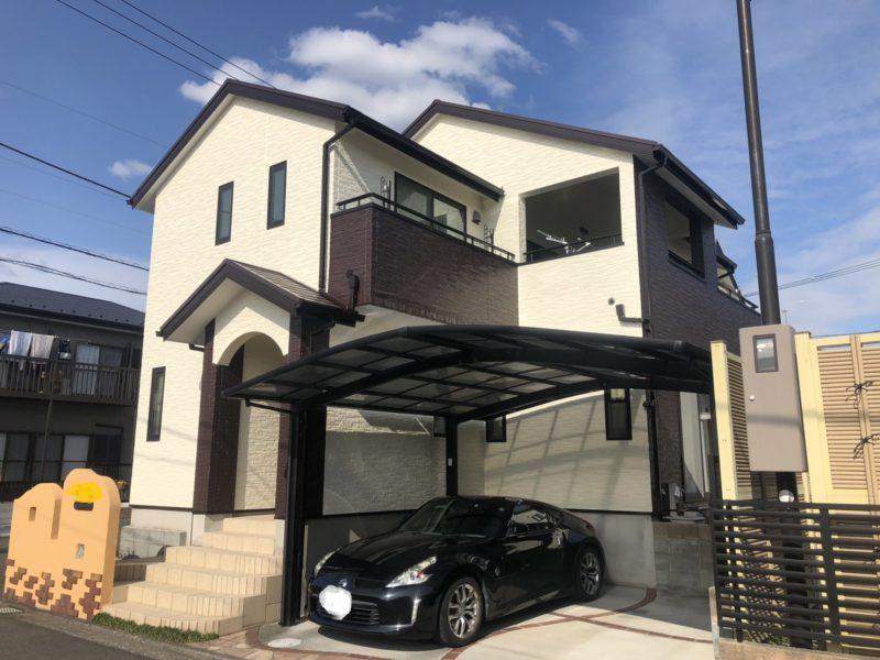 茅ヶ崎市 I様邸 外壁・屋根・付帯部塗装・バルコニー防水工事