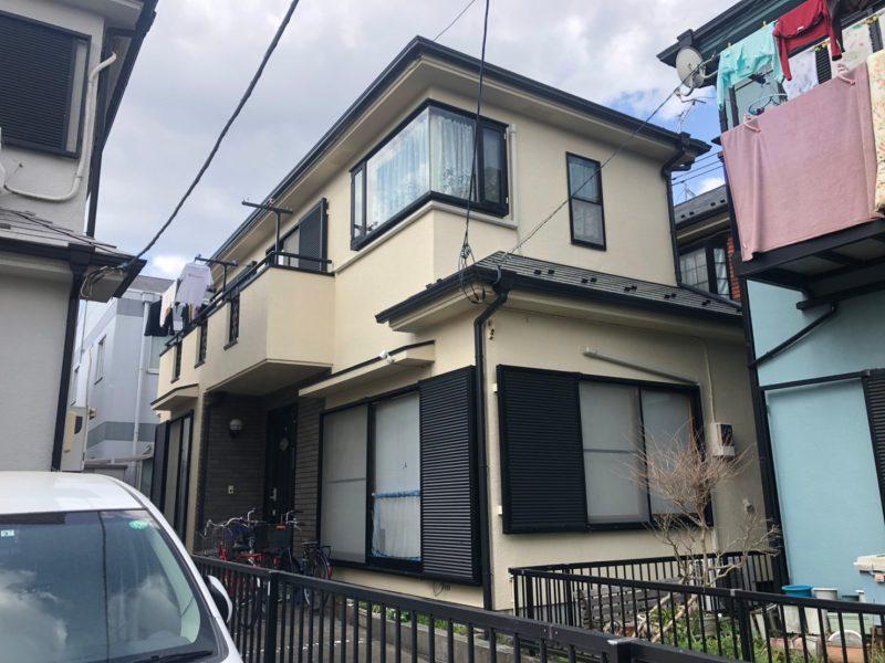 茅ヶ崎市 K様邸 外壁屋根塗装工事