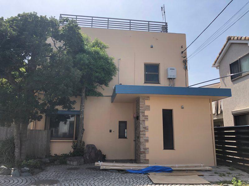 茅ヶ崎市 A様邸 外壁塗装・屋上防水工事