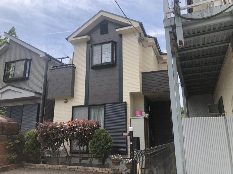 戸塚区 E様邸 外壁・屋根塗装工事