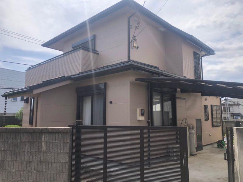 茅ヶ崎市 H様邸 外壁・屋根・付帯部塗装