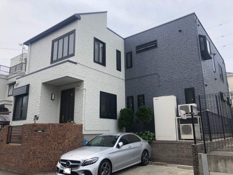 茅ヶ崎市 O様邸 外壁・屋根・付帯部塗装